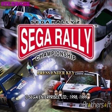 Sega Rally 2 Arcade Machine