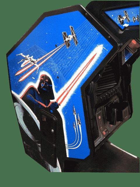 Star Wars X-Wing Sit Down Arcade Machine
