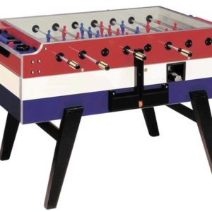 Garlando Red White and Blue Football Table