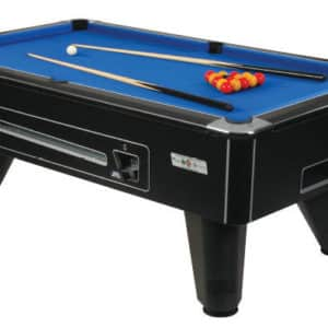 Omega 6ft Pool Table - Coin Operated