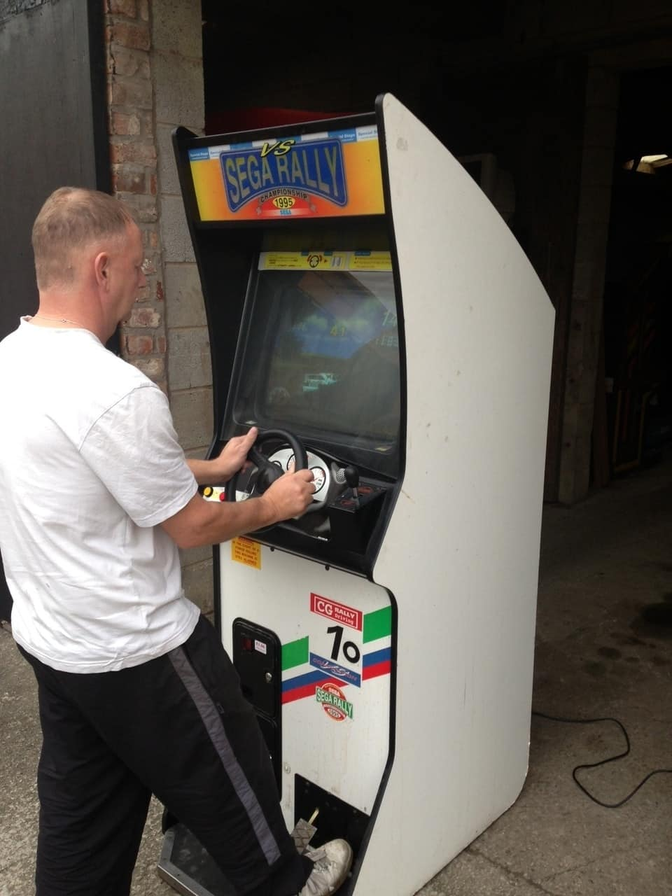 Sega Rally 1 Upright Arcade Machine