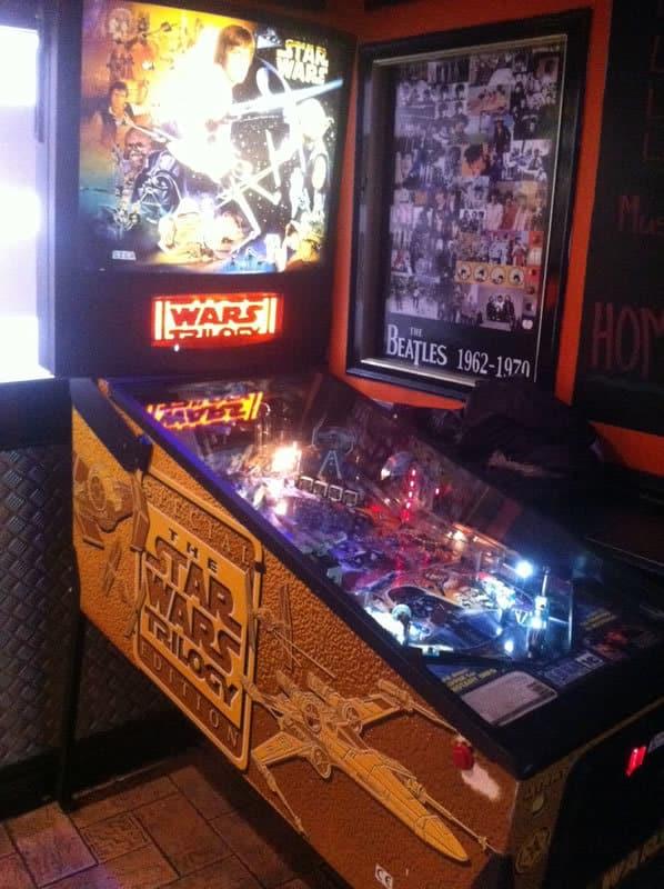 Star Wars Trilogy Pinball Machine