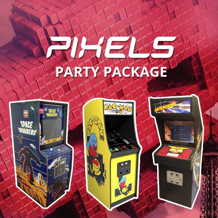 Pixels Party Package