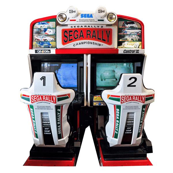 Sega Rally 2 Twin racing game