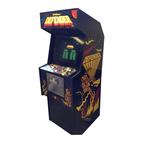 Defender Arcade Machine Hire