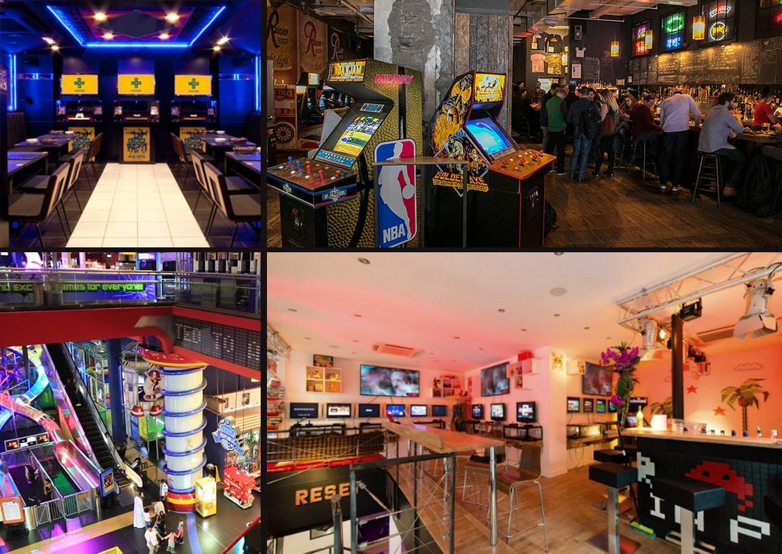 arcade gaming hangouts